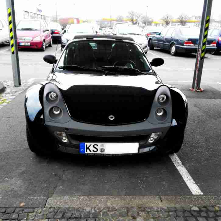 Smart Roadster softtouch (elektrisches Verdeck) schwarz