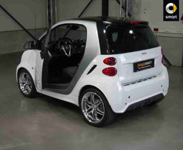 smart smart fortwo coupe passion turbo 84 ps grosse. Black Bedroom Furniture Sets. Home Design Ideas