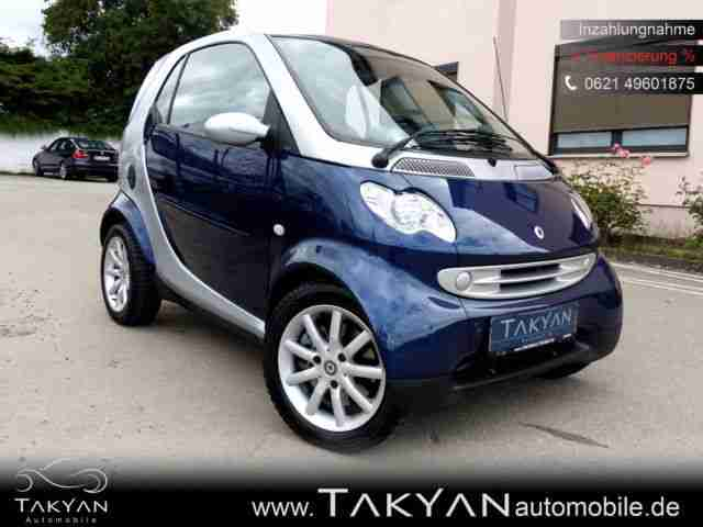 Smart coupe fortwo coupe Basis SCHECKHEFTGEPFLEGT