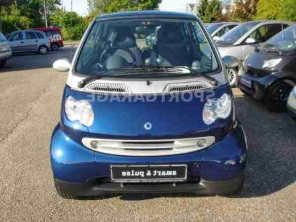 Smart coupe softtouch pulse nur 35'km F1 Wippen