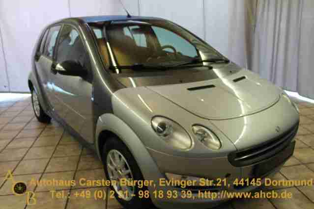 Smart forfour*Radio-CD-Klimaanlage*14-Zoll-Alu*