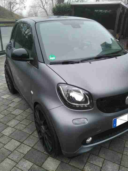 Smart fortwo 453 passion Bluetooth Tempomat Matt Sitzheizung