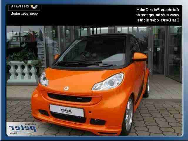 fortwo Brabus Orange Star & passion Alu
