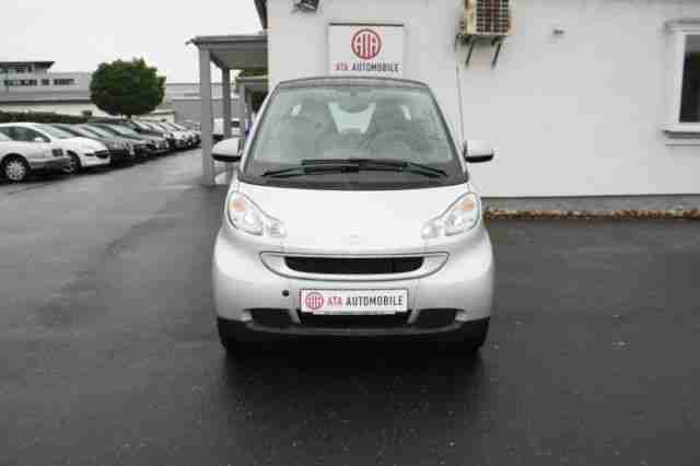 Smart fortwo Coupe Passion~Klima~Panodach~84 PS~1 Hand