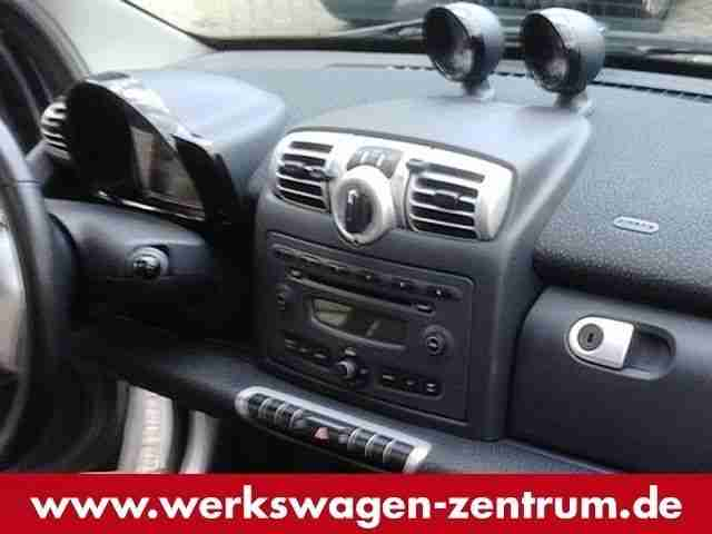Smart fortwo PASSION 1.0mhd 71PS GLASDACH,CD+MP3,AC-AU