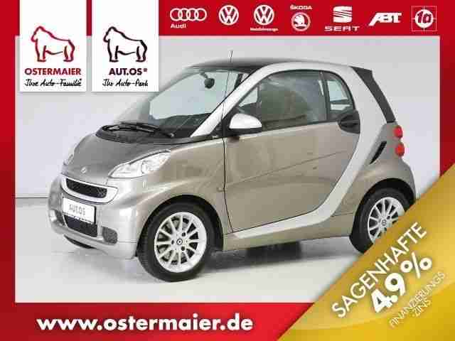 fortwo PASSION MHD PANORAMA, SITZHZG,