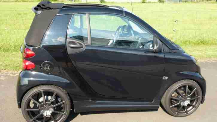 smart fortwo cabrio brabus xclusive 200km h grosse. Black Bedroom Furniture Sets. Home Design Ideas