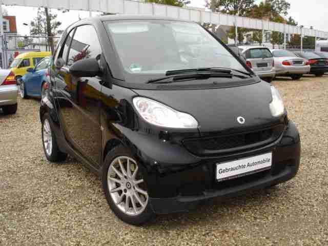 "Smart fortwo coupe 1,0 softtip ""pure"" Klima el.FH"