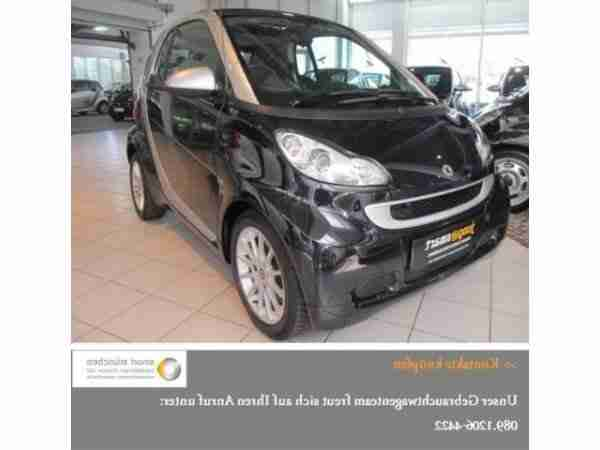 fortwo coupé 52 kW mhd passion KLIMA SERVO