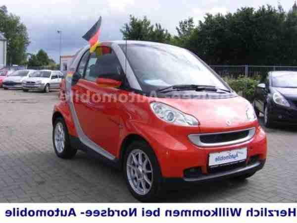 Smart fortwo coupe CDI Klima Alu Panorama