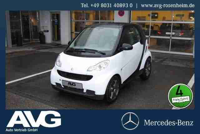 Smart fortwo coupé mhd 45 kW pure/HiFi/Klima/eFH.