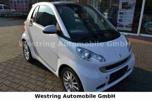 smart fortwo coupe mhd passion euro5 automatik grosse. Black Bedroom Furniture Sets. Home Design Ideas