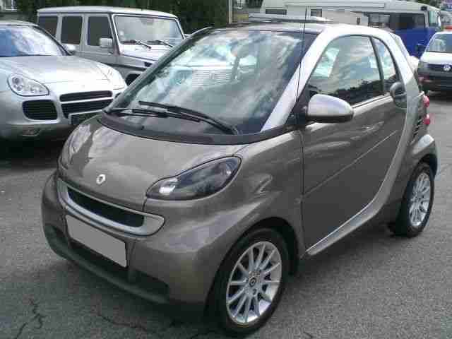 fortwo coupe passion ECO mhd Topausstattung
