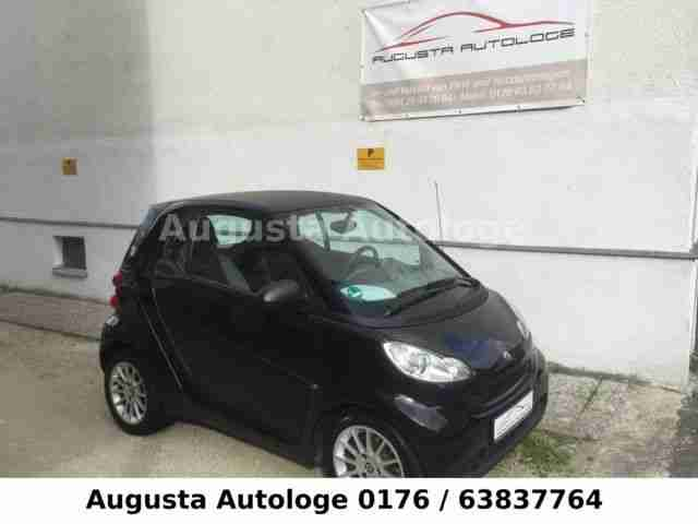 Smart fortwo coupe softouch pure Carbon Klima