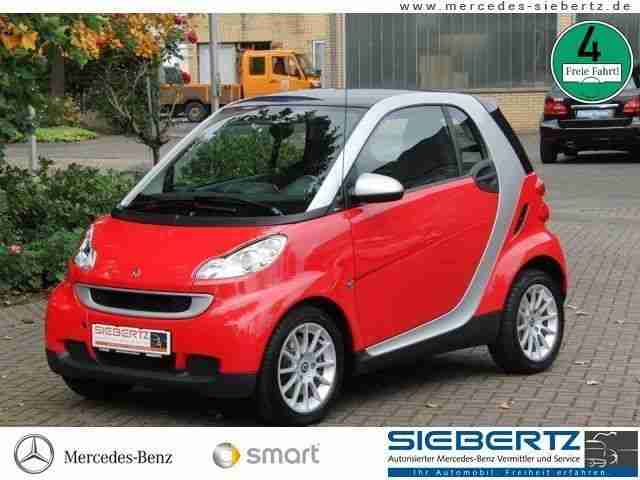 Smart fortwo passion Pano. Dach Autom. Klima