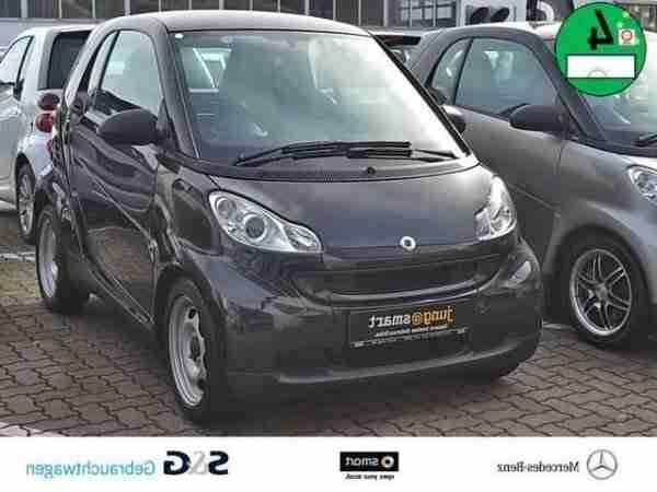 Smart fortwo pure mhd volldach softip