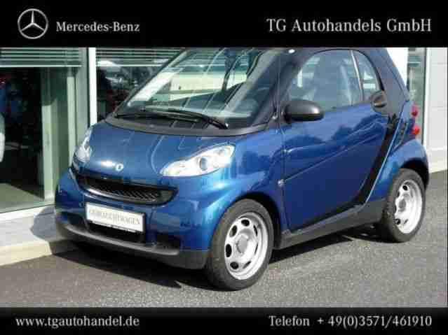 fortwo pure softip Volldach
