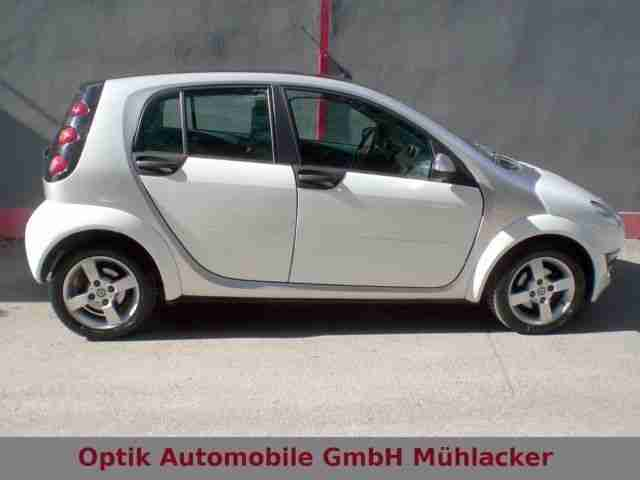 Smart smart forfour passion Klima/5-Gang/Euro-4/Glasda