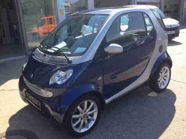 fortwo Coupe Sitzhzg. Klima 8 fach Bereift