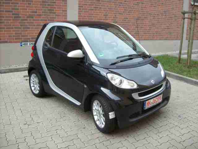 Smart smart fortwo coupe SilverBlack