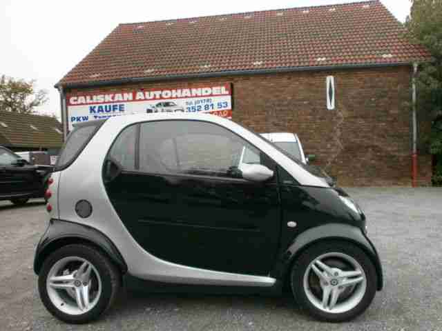 fortwo coupe passion cdi dpf F1 Schaltung