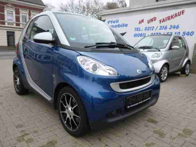 Smart smart fortwo coupe softouch PANORAMA KLIMA EFH Z