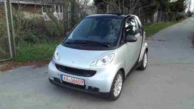 fortwo coupe softouch passion, Leder