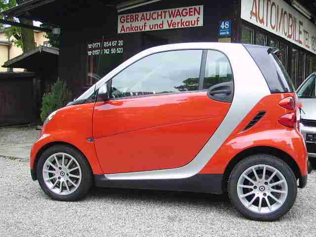 Smart smart fortwo coupe softouch passion*SHZ*PANORAMA