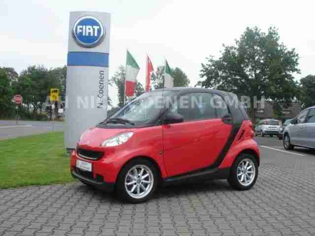 fortwo coupe softouch pure Scheckheft TOP