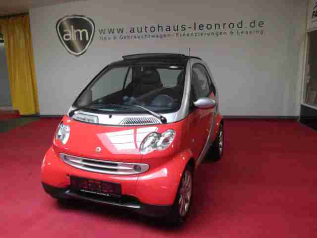 fortwo coupe softtouch passion VOLL SERVO