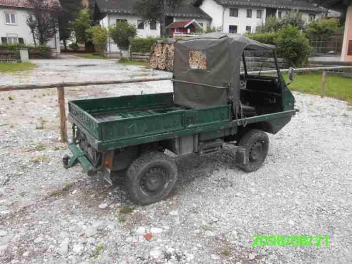 steyr puch haflinger nutzfahrzeuge angebote. Black Bedroom Furniture Sets. Home Design Ideas