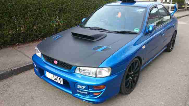 Impreza MY00 STi Type RA Version 6 V Limited