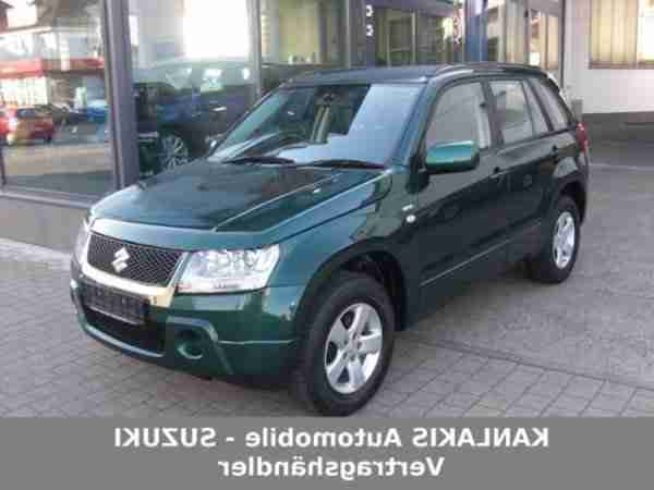 Grand Vitara 1.9 DDiS Club DPF mit AHK