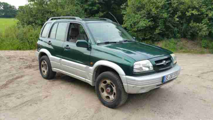 Grand Vitara V6 2, 5 mit neuem OME Old Man Emu