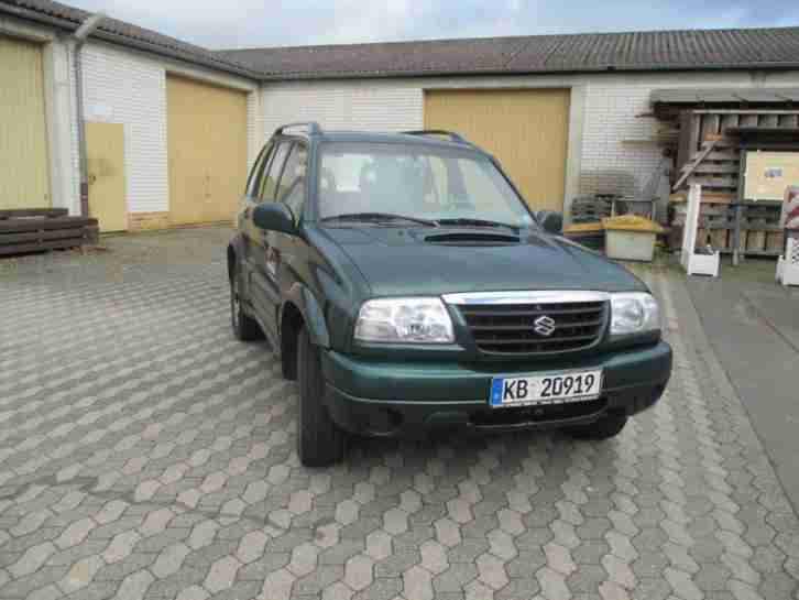 Grand Vitara grün metallic EZ 2001 220.000km