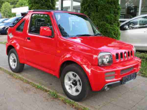 Jimny Cabrio Rock am Ring