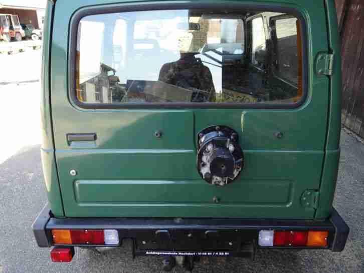suzuki samurai 413 gel ndewagen jeep jagd neue angebote. Black Bedroom Furniture Sets. Home Design Ideas