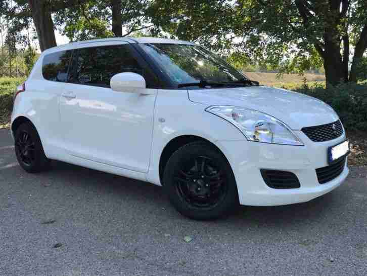 Suzuki Swift 1, 2 Club 3 Türer Top Alu Klima Scheckheft