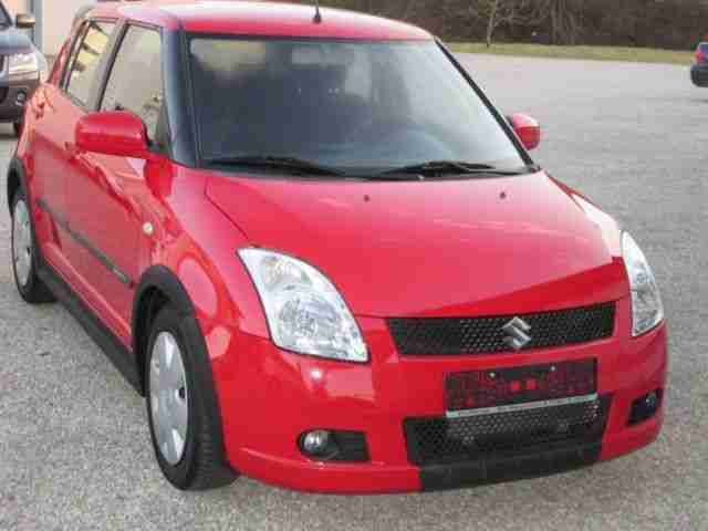 Swift 1.3 Club, Klima, Alu, Spoiler