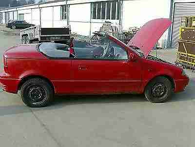 Swift Cabrio Bj. 08.92 in 53925 Kall an Bastler