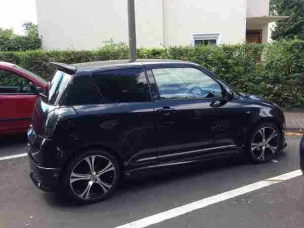 Swift, Facelift 2008, Klima, Spoilerpaket, Alu,