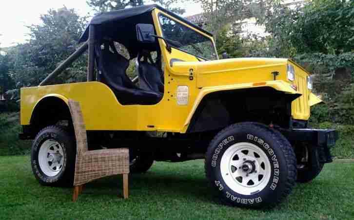top mahindra cj540 gelb offroad cabrio bj angebote. Black Bedroom Furniture Sets. Home Design Ideas