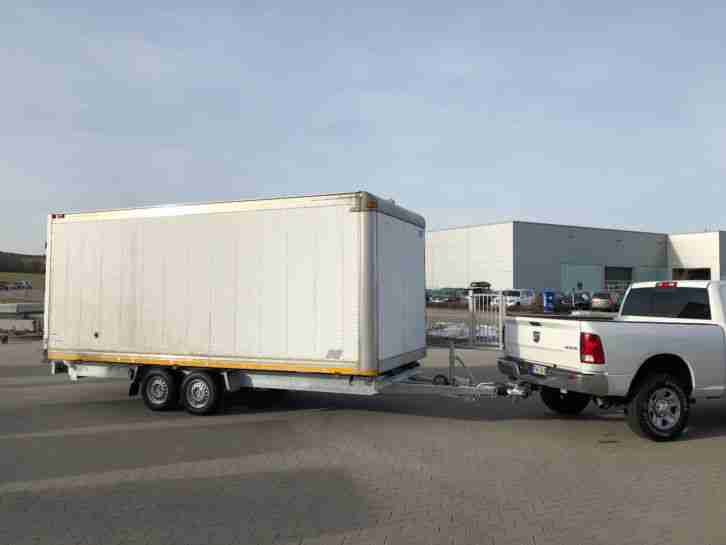 TOP TRAILER US KOFFER FOODTRUCK IMBISS
