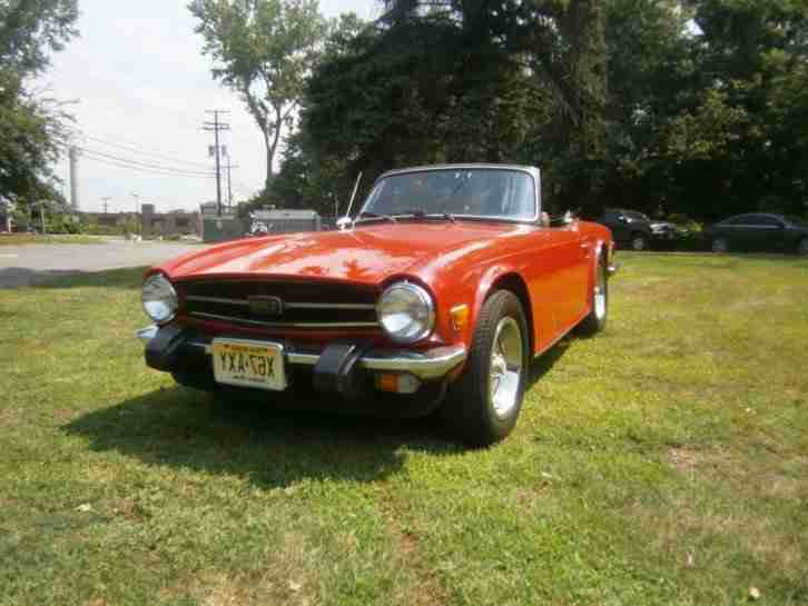 TR6 1975 ROT