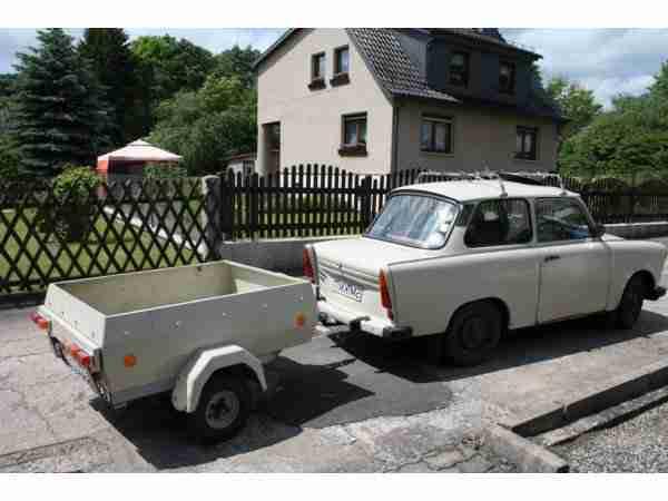 trabant 601 mit anh nger angebote gebrauchtwagen trabant. Black Bedroom Furniture Sets. Home Design Ideas