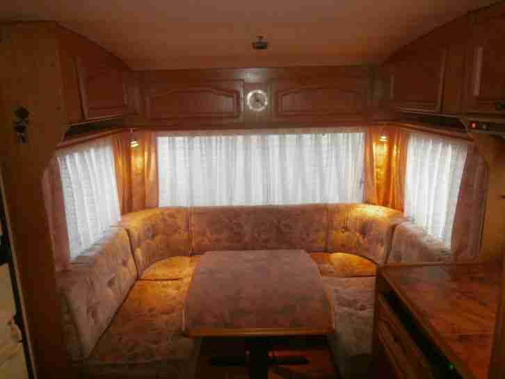 tabbert comtesse 490 td sehr gepflegt mit t v wohnwagen. Black Bedroom Furniture Sets. Home Design Ideas
