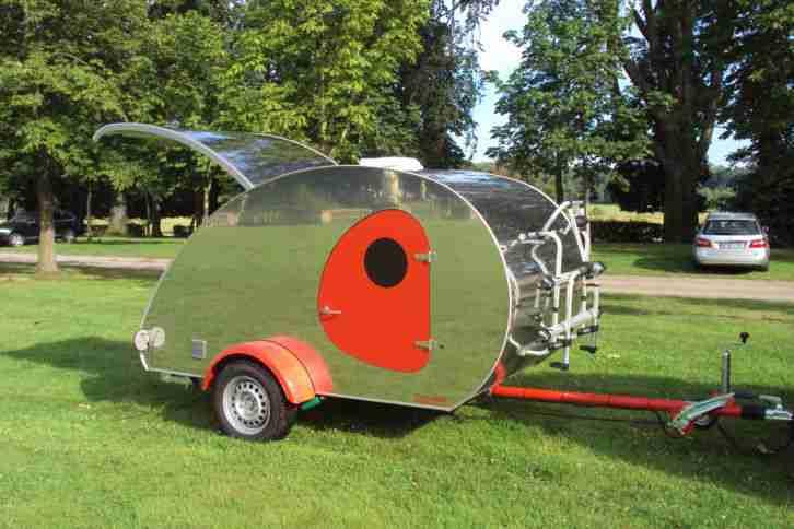 teardrop caravan mini wohnwagen wohnwagen wohnmobile. Black Bedroom Furniture Sets. Home Design Ideas