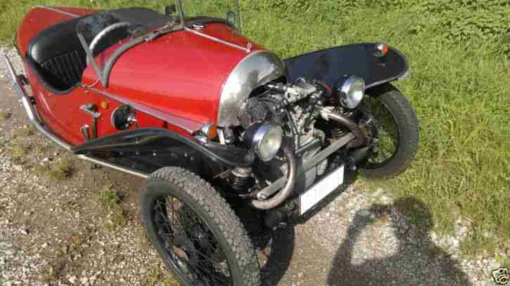 Three Wheeler Morgan JZR Lomax Triking