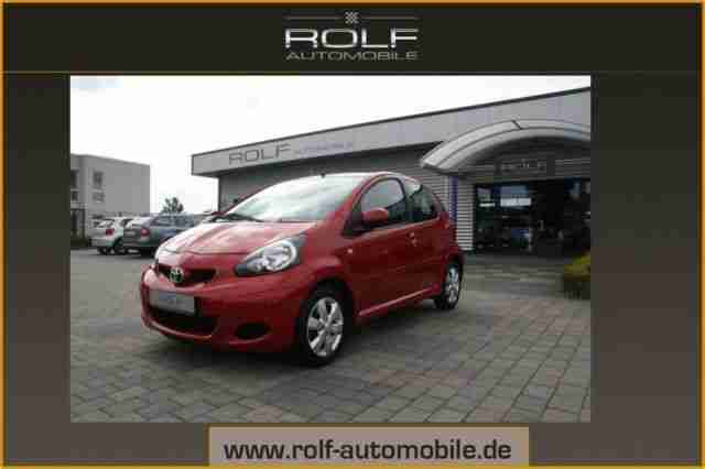 Toyota Aygo 1.0 COOL RED KLIMA RADIO CD 5 TRG