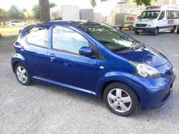 Aygo Blue Klima 1Hd u frei top gepfl.
